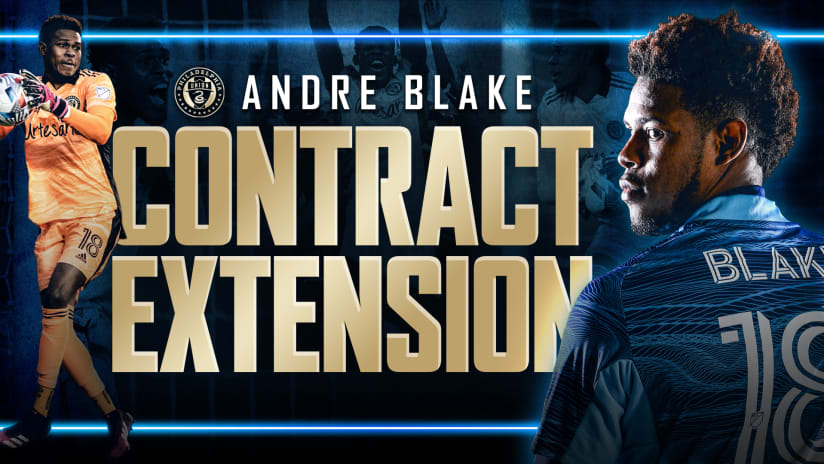 Philadelphia Union Sign Goalkeeper Andre Blake To Contract Extension