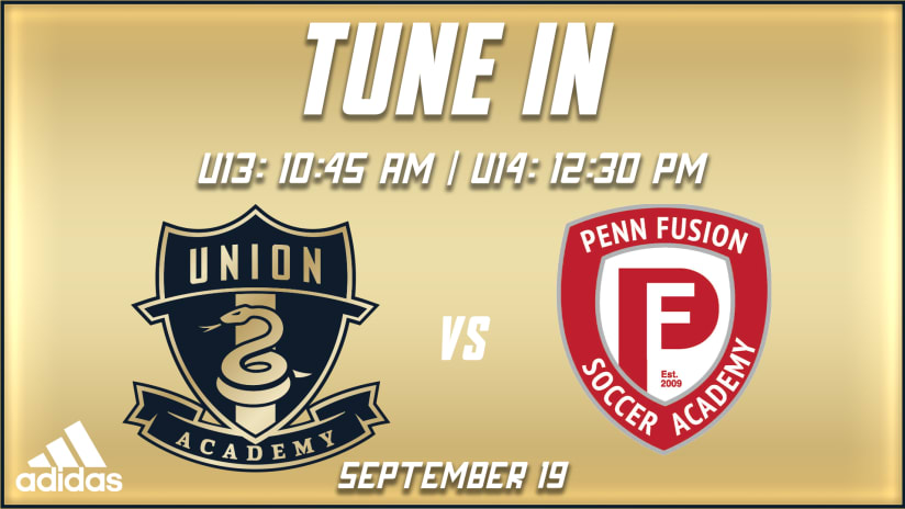 Tune In | Academy's younger sides play older Penn Fusion teams