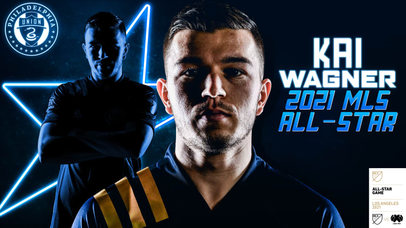 Philadelphia Union Defender Kai Wagner Named To 2021 MLS All-Star Game Presented by Target