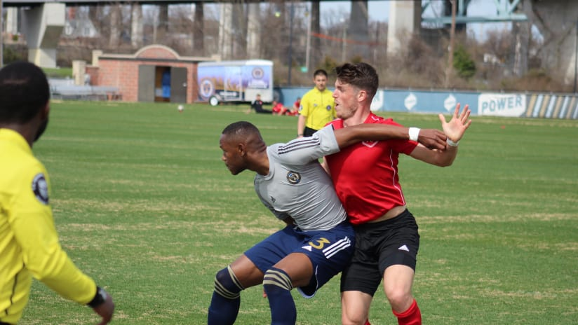 Union 2 drop friendly to Richmond Kickers