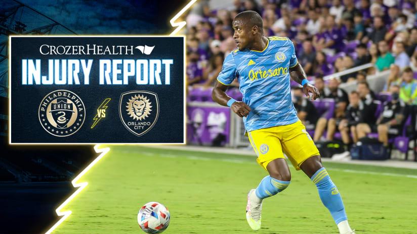 Crozer Health Injury Report | #PHIvORL