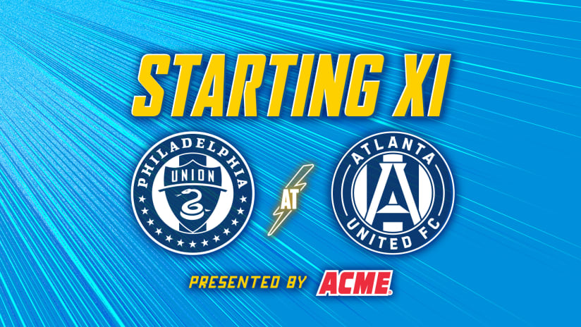 XI Notes presented by ACME | Union at Atlanta United FC