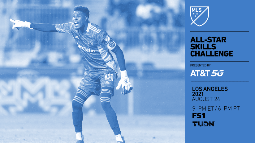 Andre Blake to participate in 2021 MLS All-Star Skills Challenge presented by AT&T 5G