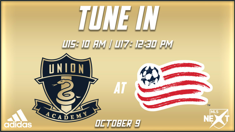 Tune In | Academy travels to New England for MLS NEXT contests