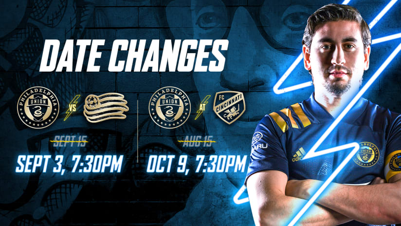 Schedule Update | Two Union matches rescheduled due to SCCL