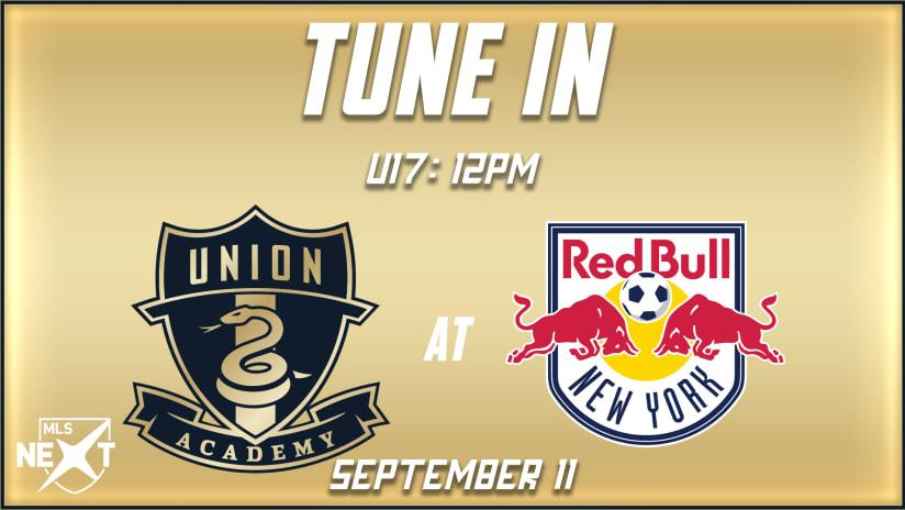 Watch | U17s at New York Red Bulls