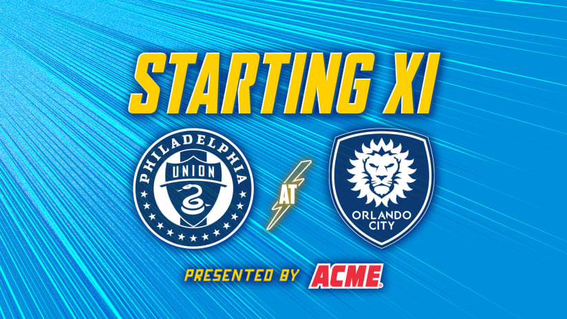 XI Notes presented by ACME   Union at Orlando City SC