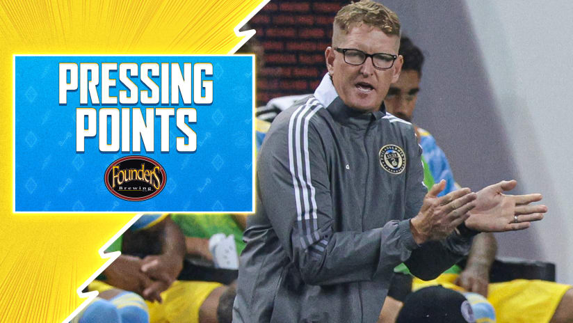 Pressing Points   Another quick turnaround for the Union