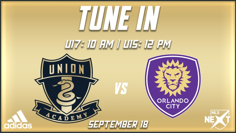Tune In | Academy faces off against Orlando in MLS NEXT action