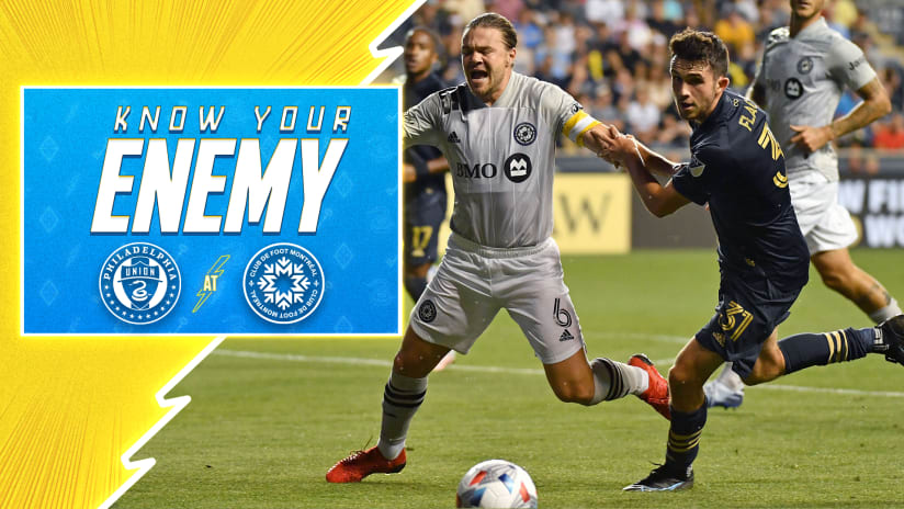 Know Your Enemy   Union take unbeaten form to Montreal