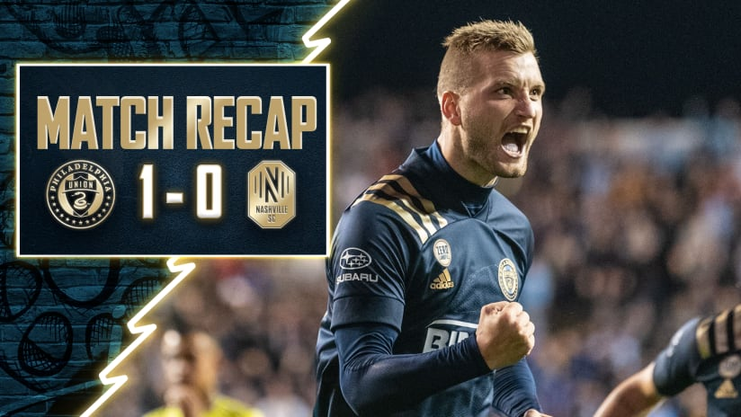 Recap   Przybylko penalty propels Union to second place in the Eastern Conference