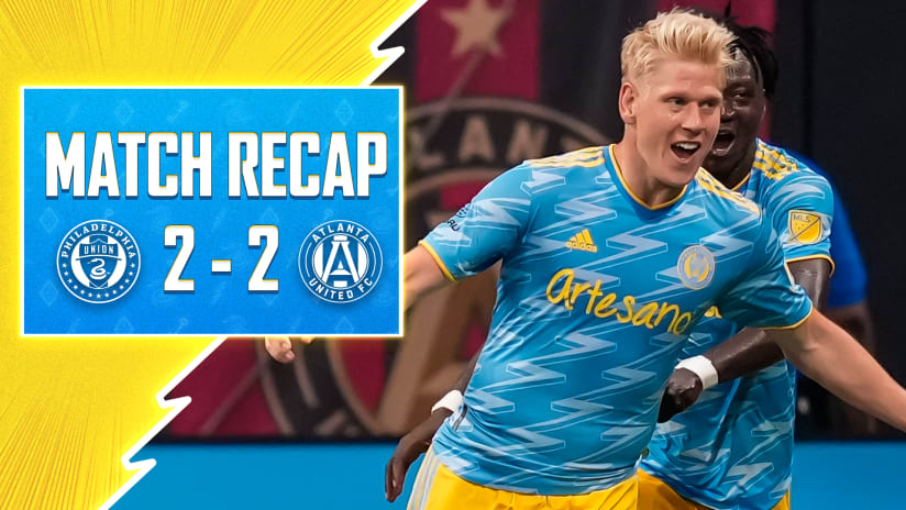 Goodness Glesnes, great goals of fire! Defender earns draw at ATL with stunner
