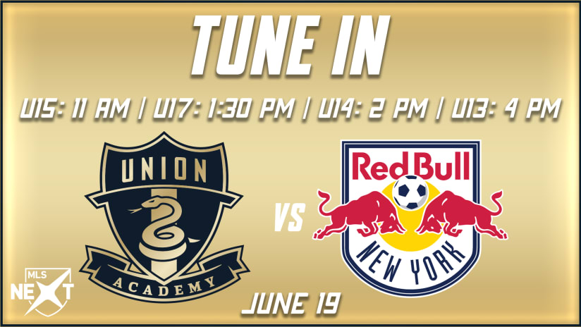 Tune In | Academy concludes MLS NEXT season hosting rival Red Bulls