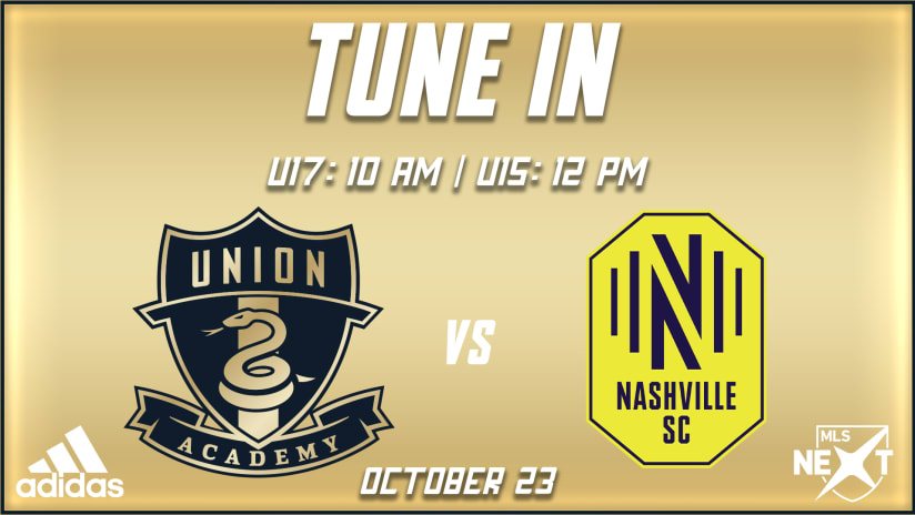 Tune In | U17s and U15s kick off weekend against Nashville SC