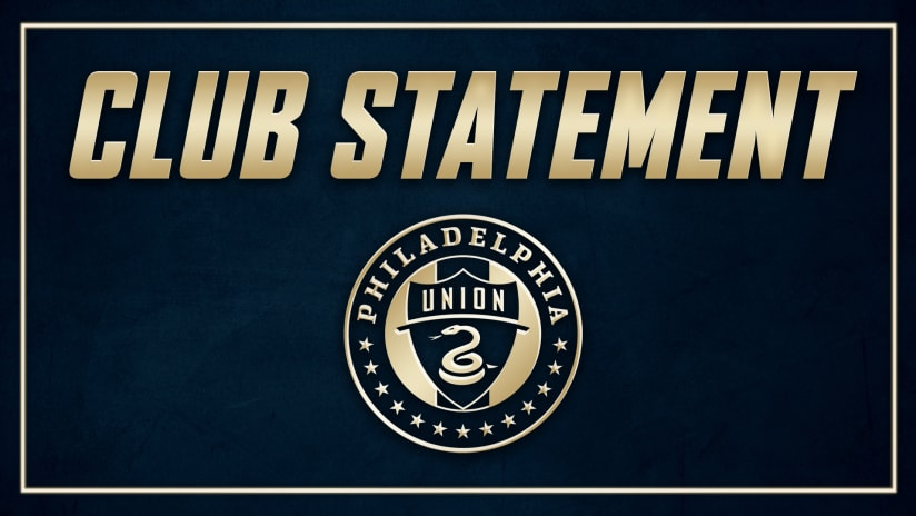 Official Club Statement | 4/20/21