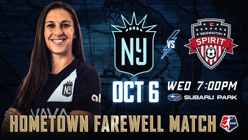 Hometown Farewell: NJ/NY Gotham FC to Play at Philadelphia Union's Subaru Park to Celebrate Carli Lloyd
