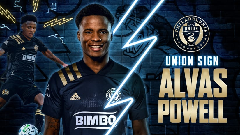 Philadelphia Union Sign Defender Alvas Powell