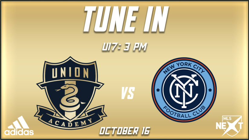 Watch | U17s vs. NYCFC