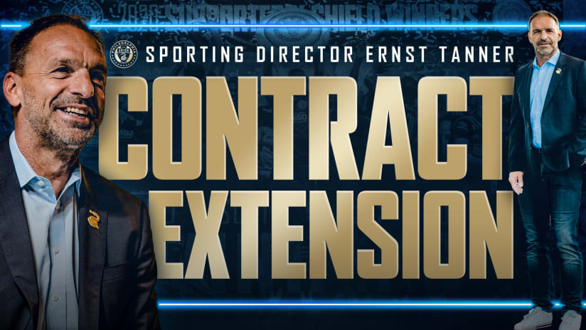 Philadelphia Union Sign Sporting Director Ernst Tanner To Contract Extension