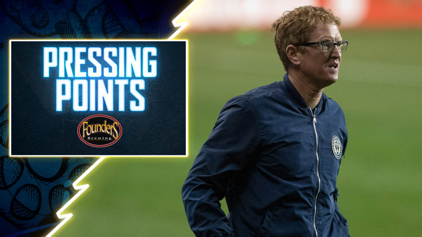 Pressing Points | Push for Second
