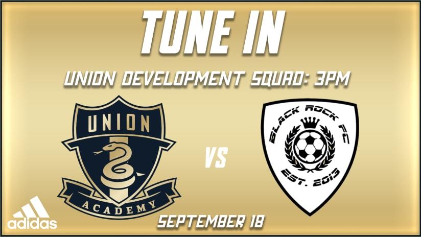 Watch | Union Development Squad host Black Rock FC