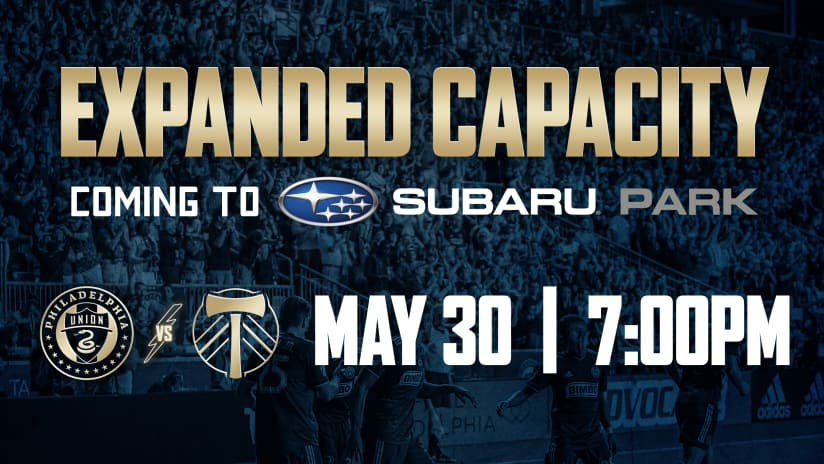 Philadelphia Union Announces Updated Capacity and Safety Guidelines