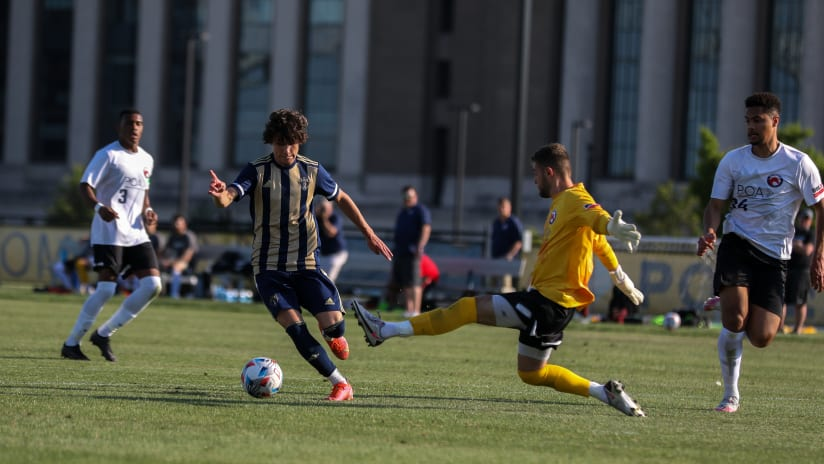 Union find valuable minutes with Union II on Tuesday Night