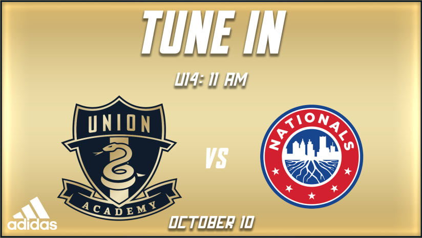 Watch | U14s vs. Nationals