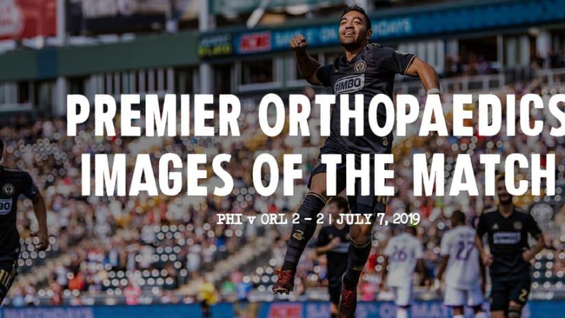 Premier Orthopaedics Images of the Match: Orlando City SC - premier Orthopaedics Images of the Match