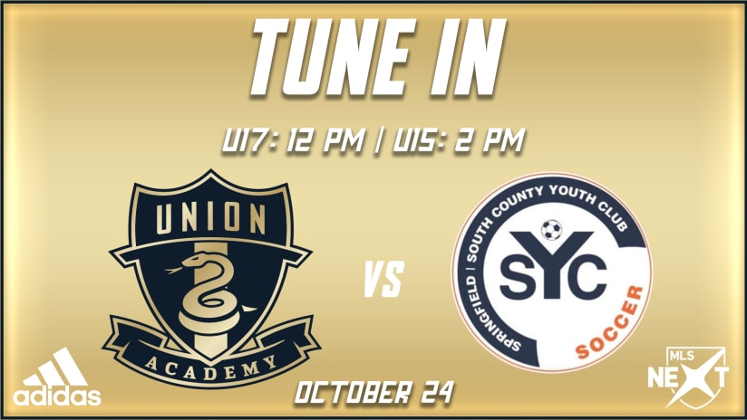 Tune In | Older sides wrap up MLS NEXT doubleheader hosting Springfield