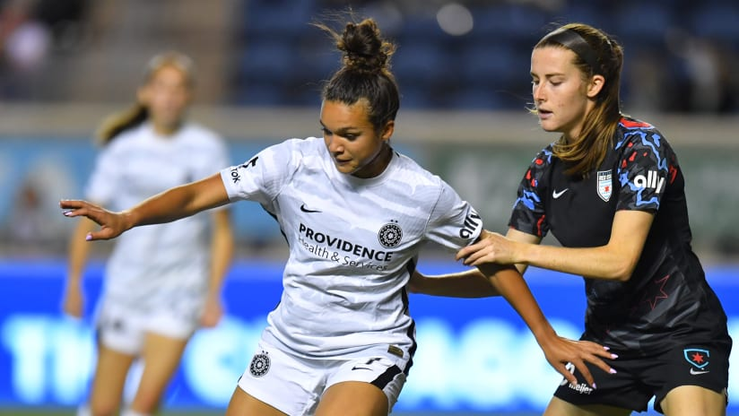 HIGHLIGHTS | Thorns score first, but lose in the end to Red Stars, 2-1