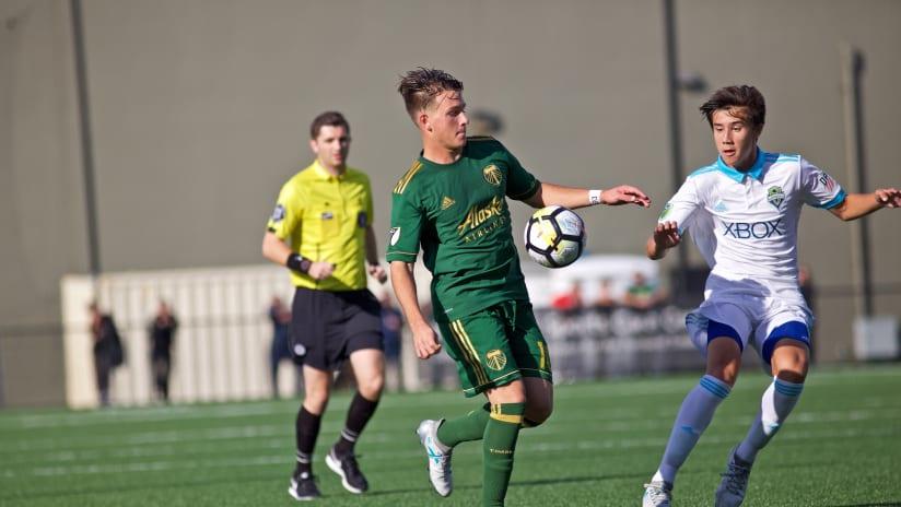 Lucas Cini, Timbers Academy vs. Sounders FC Academy, 09.30.17