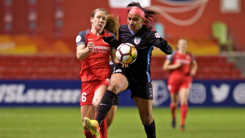 Mallory Weber, Thorns at Red Stars, 3.31.18