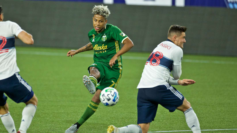 Andy Polo, Timbers @ Caps, 9.27.20