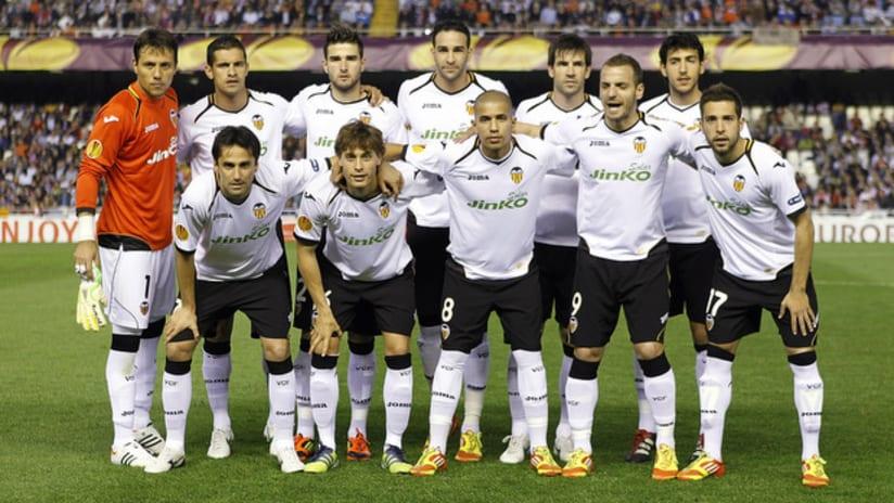 Valencia CF, Europa League semi final, 2012
