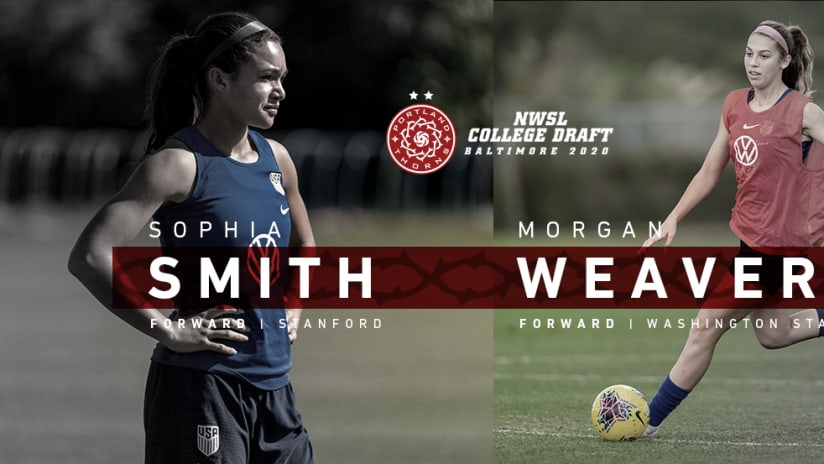 Sophia Smith, Morgan Weaver, 1.16.20
