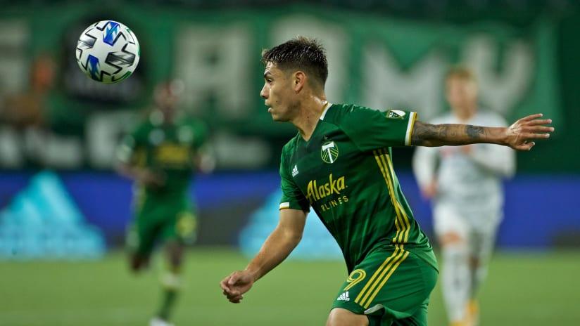 Felipe Mora #2, Timbers vs. LAFC, 10.18.20