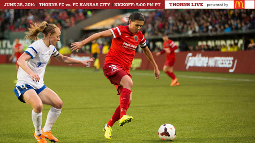 Matchday Preview, Thorns @ FCKC, 6.28.14