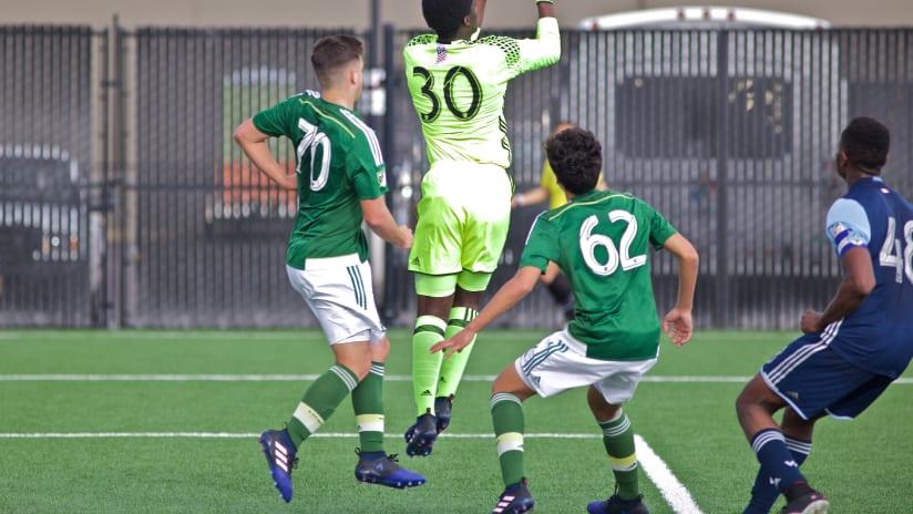 Timbers Academy U-16s, 4.2.17