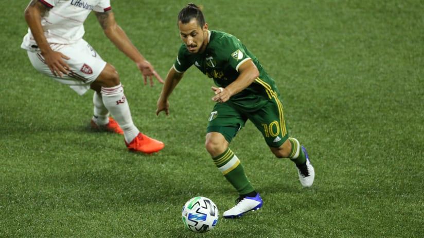 Sebastian Blanco, Timbers vs. RSL, 8.29.20
