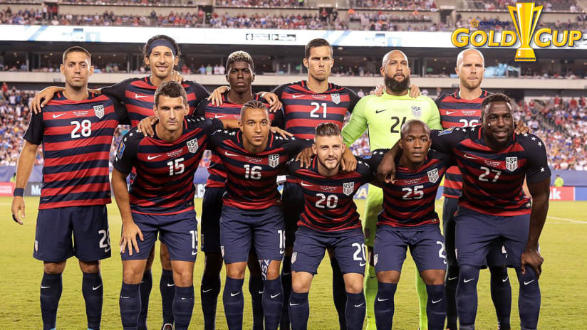 Darlington Nagbe, USMNT vs. El Salvador, 7.19.17