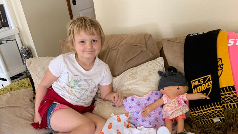 Timbers, Stand Together provide special one-of-a-kind dolls for Kick Childhood Cancer month