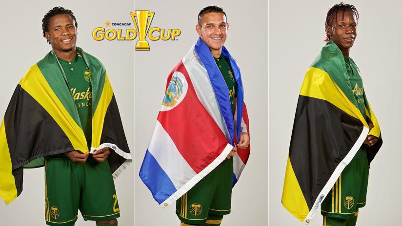 2017 Gold Cup, Alvas Powell, David Guzman, Darren Mattocks