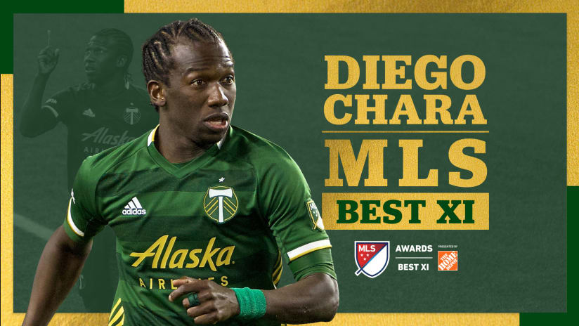 Timbers midfielder Diego Chara named to 2020 MLS Best XI presented by the Home Depot -