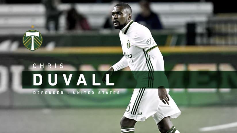 Chris Duvall, announce, 2.25.20
