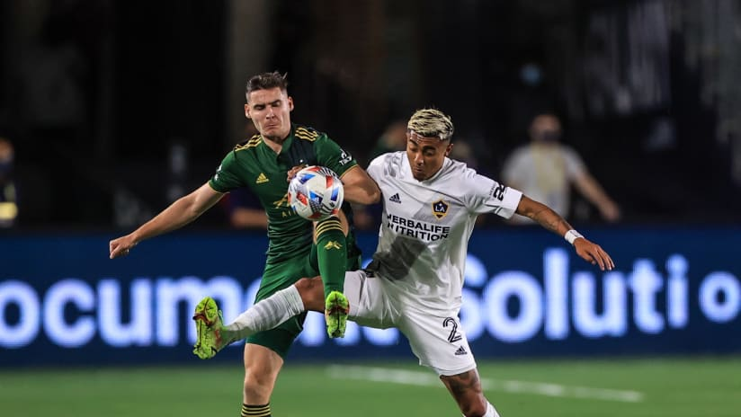 Night in Pictures   Timbers downed by Galaxy in LA