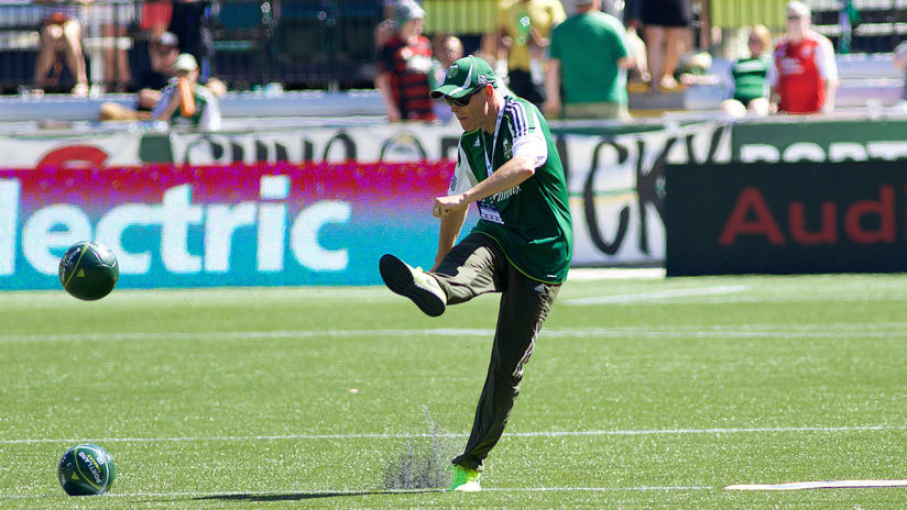 76 Halftime Kick, Timbers vs. Seattle Sounders FC, 7.17.16