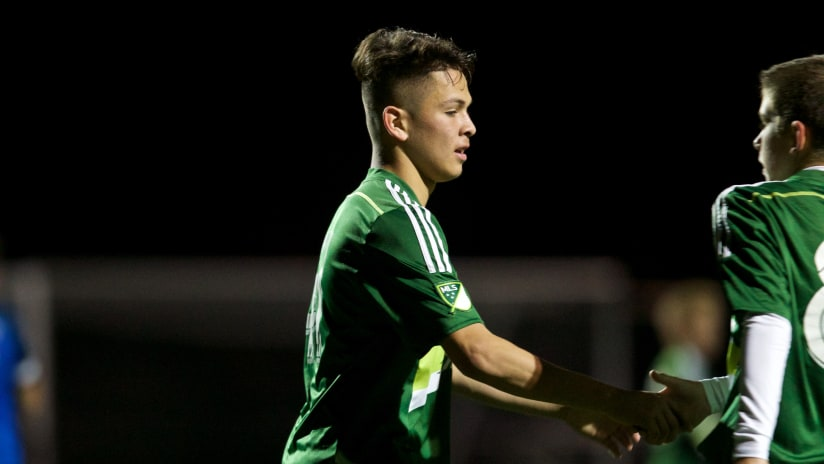 Jhovany Gaytan, Timbers Academy vs. Greater Seattle, 11.11.17