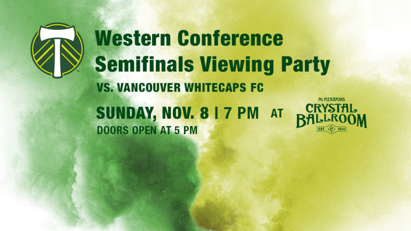 Timbers @ Caps Viewing Party, 11.8.15