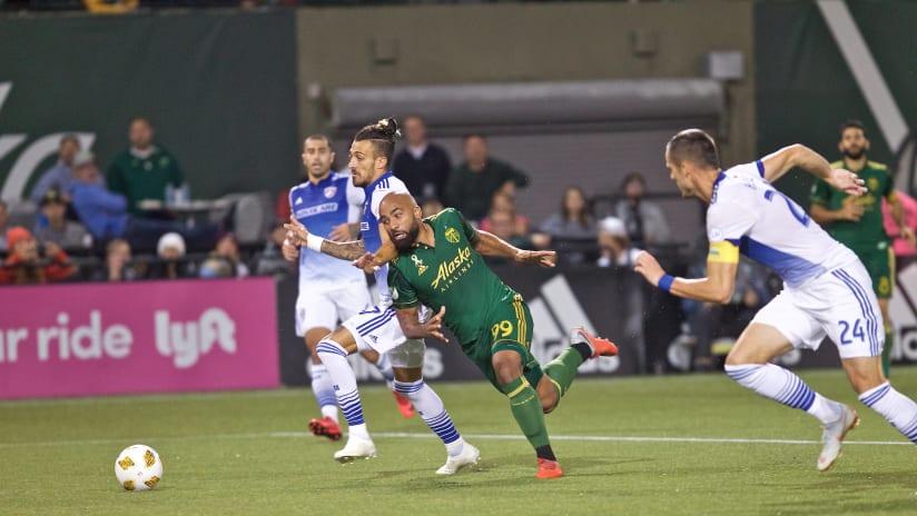 Samuel Armenteros, Timbers vs. FC Dallas, 9.28.18